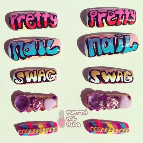 nailgasmdoc:  prettynailswag:  Sending these to the creator of the greatest documentary ever to be made @nailgasmdoc @whoisbrass #NAILgasm #NAILgasmDoc #GrindDayEveryday (Taken with Instagram)  <3 <3 <3