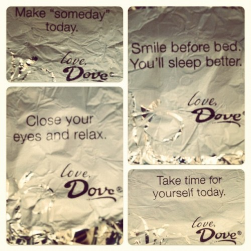 "I call this one ""Dove Chocolate is overtly encouraging you to masturbate."" (Taken with Instagram)"