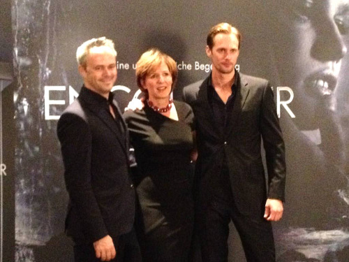"Alexander Skarsgard at the Berlin launch of Calvin Klein's ""Encounter"" (October 2, 2012). (Source: snoopsmaus @ twitter)"
