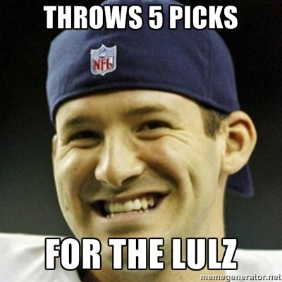 Tony Romo is the troll! It all makes sense now.