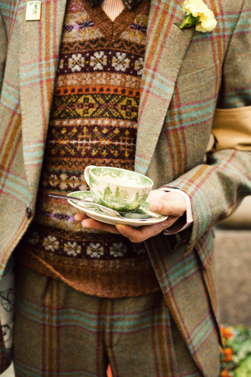 A man in tweed is all I need ~ La