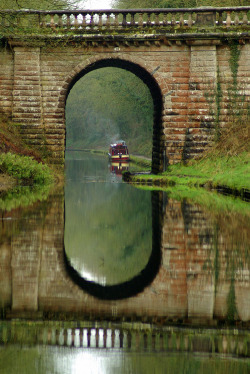 bluepueblo:  Ancient Bridge, Shropshire, England photo via allyours
