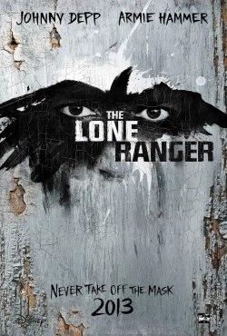 Brand new poster for The Lone Ranger.
