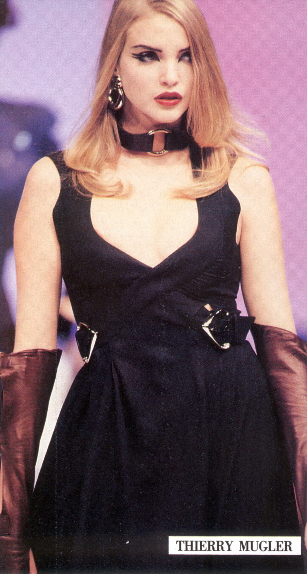 Nadja for Thierry Mugler, s/s 1992