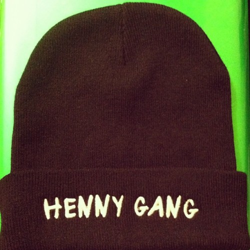 LIMITED EDITION HG Beanie in WHITE! Few pieces will be made, free pin with every order. 19.99 + shipping. Email: hennygclothing@gmail.com  (Taken with Instagram)