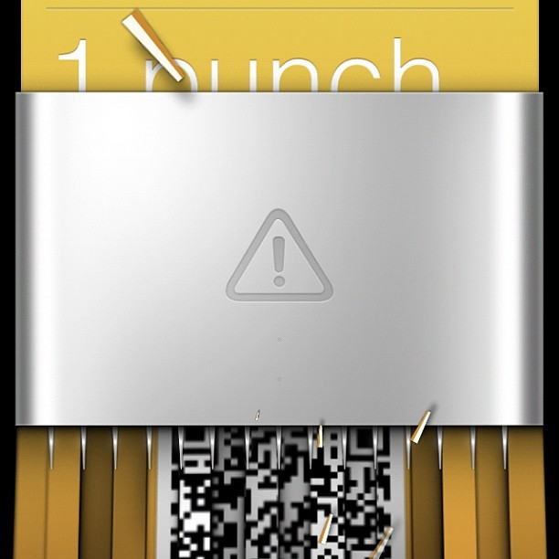 This #passbook animation in #ios6 is so #gimmicky I #love it! (Taken with Instagram)