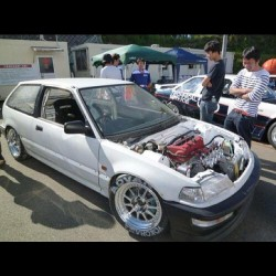 Damn, this EF #Honda #Civic is dope!!! Japan knows what's up. #jdmhonda #jdmcivic  (Taken with Instagram)