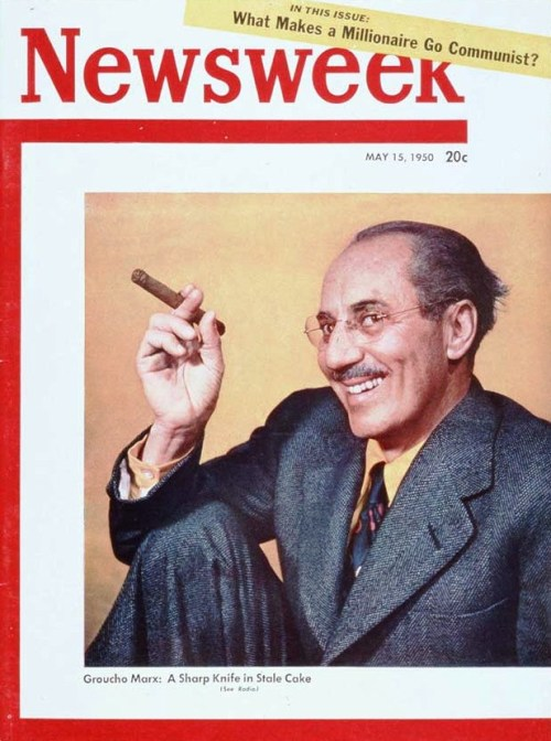 nwkarchivist:  It's Groucho Marx's Birthday!  [and that of this editor]