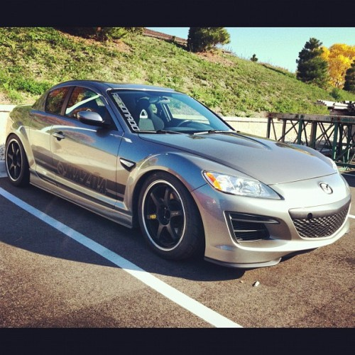 Updated look #rx8 #mazda #rotary #jdm  (Taken with Instagram)