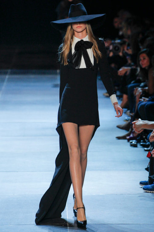 Caroline Loosen - Saint Laurent Paris Spring 2013 PFW RTW