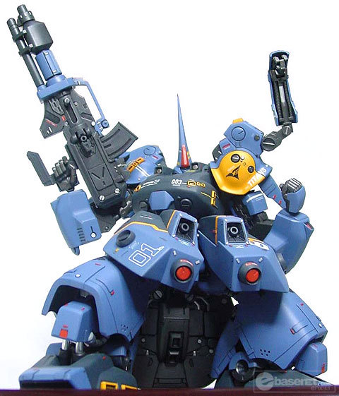 gunjap:  1/144 The-O (Titans Special Assault): Custom Work. Large Imageshttp://www.gunjap.net/site/?p=97552  beautiful, nothing more to say