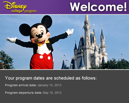 It's offical, I'm going to Florida in January!!!! :D