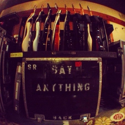 rehearsals. #sayanything #stageright (Taken with Instagram at Bedrock Studios)