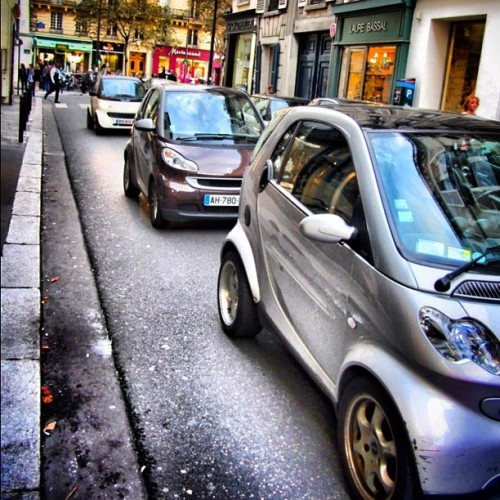 attack of the smart cars (Taken with Instagram)
