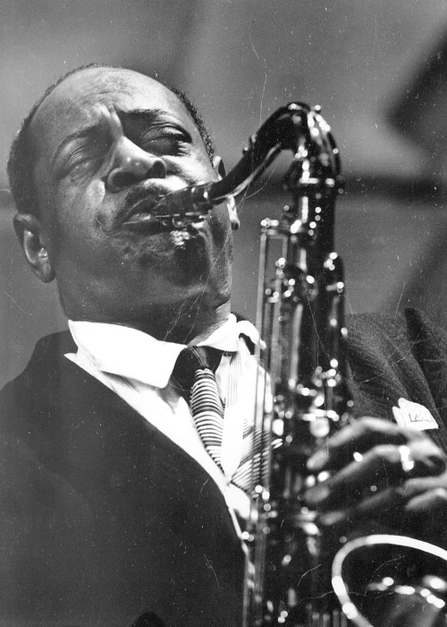 soul-is-amazing:  My edited copy of Coleman Hawkins by Herman Leonard.