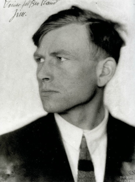 "artistandstudio:  Otto Dix by Hugo Erfurth ""All art is exorcism. I paint dreams and visions too; the dreams and visions of my time. Painting is the effort to produce order; order in yourself. There is much chaos in me, much chaos in our time."""