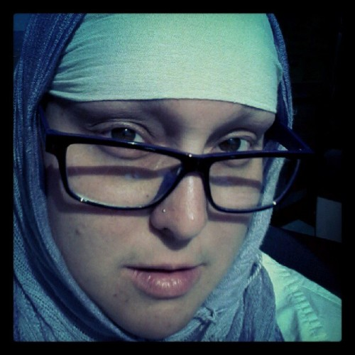 #flyhijabistyles #nomakeup #noorscience #hijabi #iloveyou (Taken with Instagram at InterContinental San Francisco)
