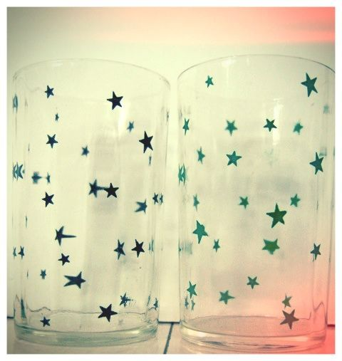 Clearly, the stars were aligned when I bought these glasses! Great find in the Andes (Upstate that is! Peruvian mountain finds are a whole other story!).