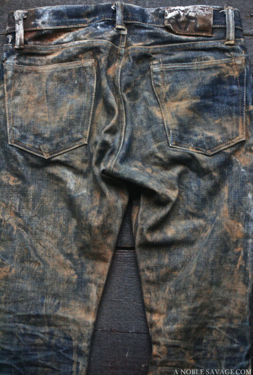 JEANS RRL WASH & PHOTOGRAPHY BY Ali of A NOBLE SAVAGE