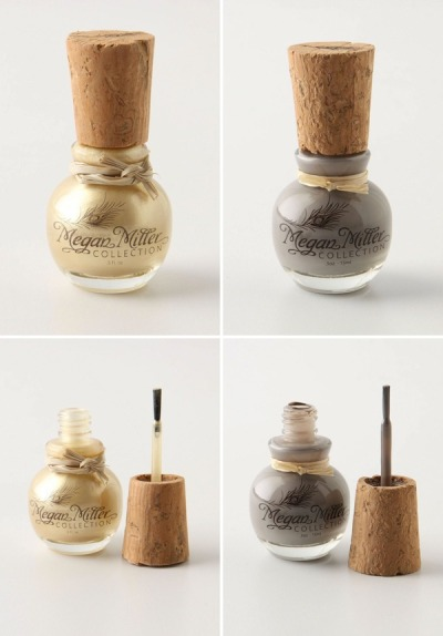 Gold nail polish from Anthropologie. can it be mine!