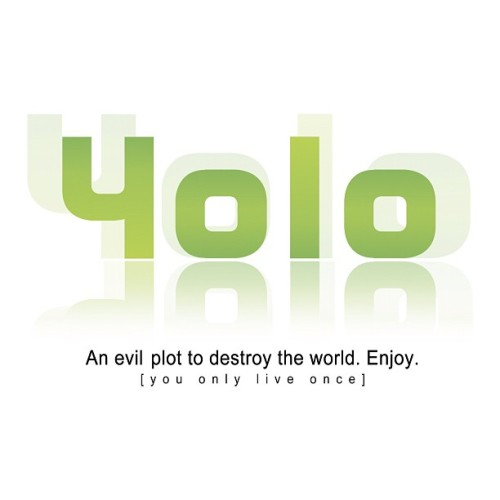stayredd:  #yolo #hulu Coincidence?! (Taken with Instagram)  Yes…coincidence. [Sitting in a swivel chair, stroking a Persian cat in a dark corner of the room.] Coincidence, indeed.
