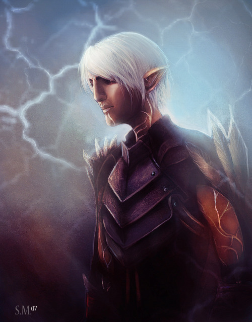 ask-little-wolf:  Fenris by *SmaiLika07