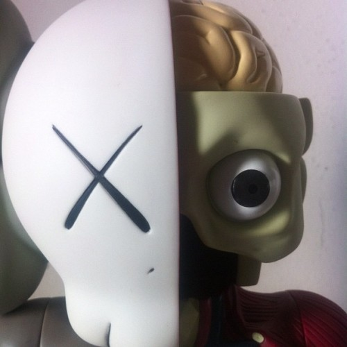 KAWS: Resting Place Companion @CommissaryOC (close-up)