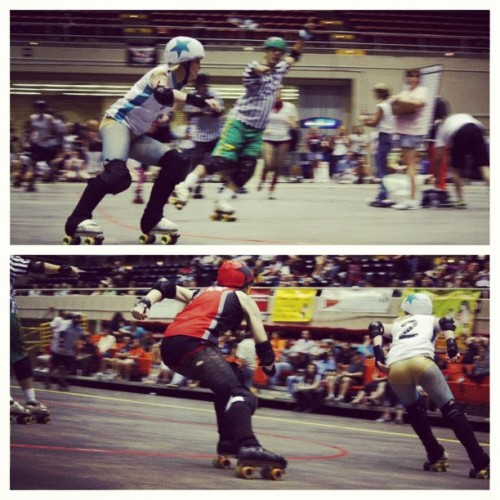 #derby #rollerderby #jammer #leadjammer #savannah  (Taken with Instagram)
