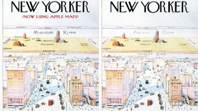 Mad Magazine Takes a Jab at Apple Maps With a Fake New Yorker Cover