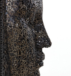 Seo Young Deok, a Korean artists, has made these really interesting sculptures from old bicycle chains. Source: http://www.designboom.com/weblog/cat/10/view/23921/bicycle-chain-sculptures-by-seo-young-deok.html