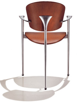 The Andrea Chair by Josep Llusca is still a winner! Love it's simplicity and style. Source: http://designwire.interiordesign.net/products/13502/andreu-world-marks-the-25th-anniversary-of-the-andrea-chair-with-a-contest