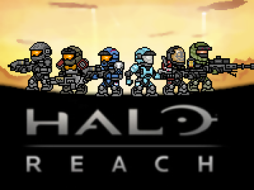 it8bit:  Halo Reach GBA Created by Joseph007dj (via:gamefreaksnz)