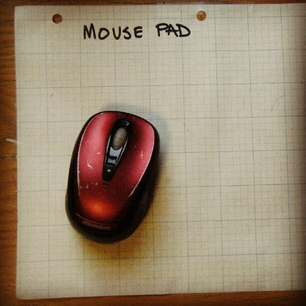 Problem solving #mouse #tech #engineering #paper #grid #math #geek #red  (Taken with Instagram)