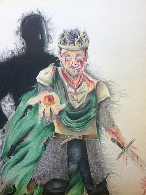 jamin95:  So I did this. Game of Thrones, Renly Baratheon