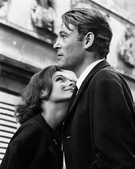 ricksginjoint:  Romy Schneider and Peter O'Toole, What's New Pussycat (1965)