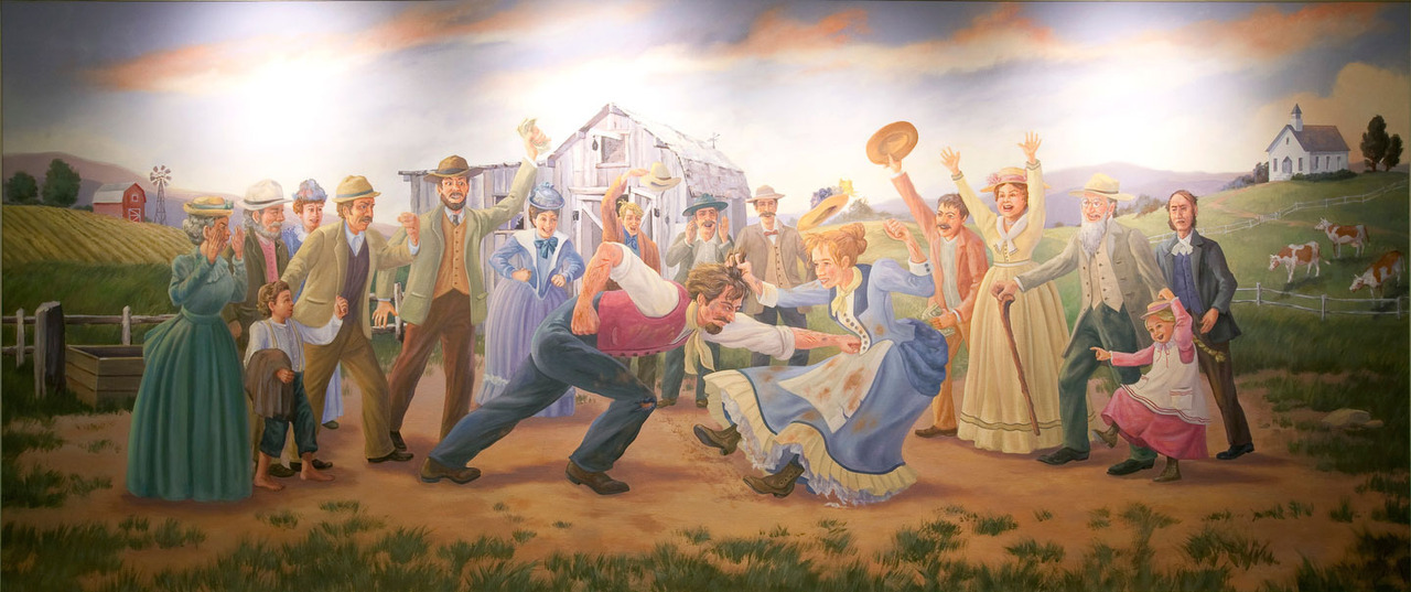 Pawnee's rich history in mural.
