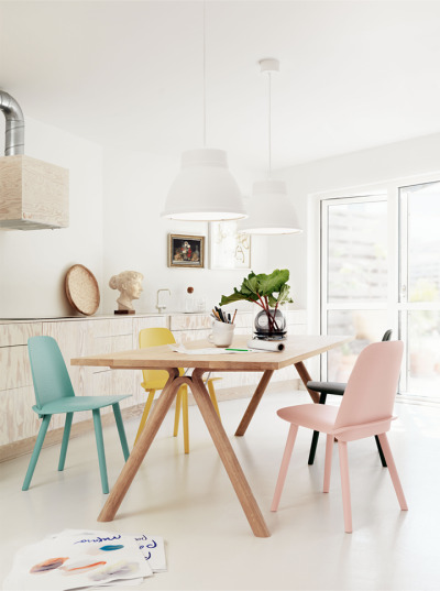 homestilo:   colourful chairs | petral bindel photo
