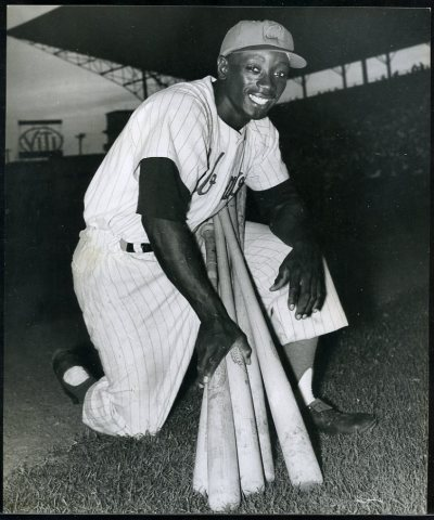 cubabeisbol: Angel Scull, Almendares, Cuban League, 1950s.