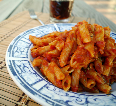 Penne alla Vodka Martini from Tipsy Vegan (0017) by smiteme on Flickr.Awesome!