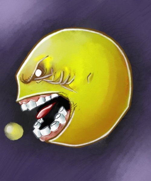 Pac-man scares me for some reason.