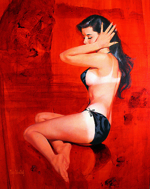 (via Exotic Painting: Women on Red) Mayo Olmstead