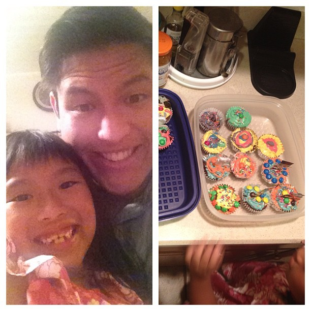 Best niece ever!!! She made me cupcakes for my bday! (Taken with Instagram)