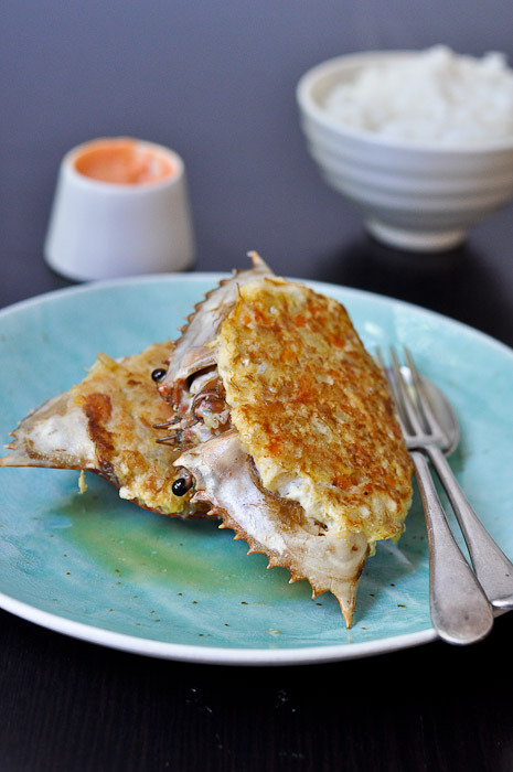 These Philippine Style Stuffed Crabs (Rellenong Alimasag) would definitely put a smile on my face. RECIPE