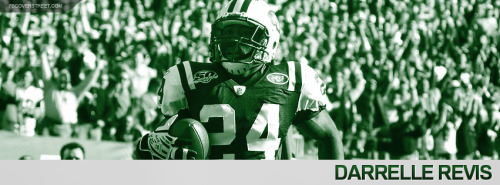 Darrelle Revis 2012 New York Jets Facebook Cover