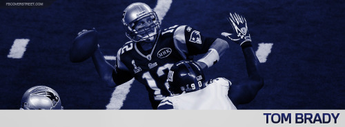 Tom Brady 2012 New England Patriots Facebook Cover
