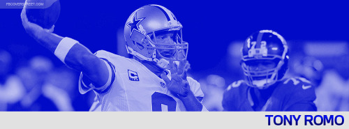Tony Romo 2012 Dallas Cowboys Facebook Cover