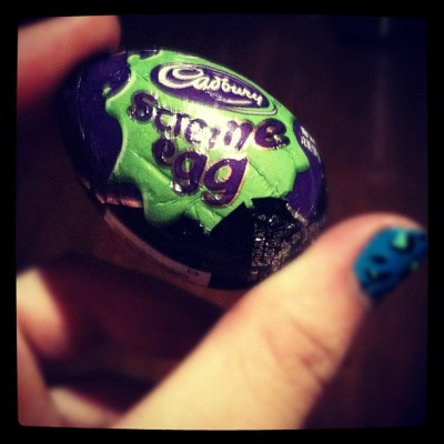 Ready for Halloween!! #cadburyscremeegg #halloween (Taken with Instagram)