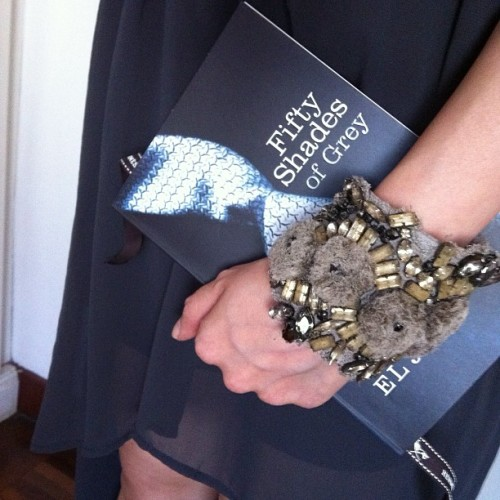 Make that 52 #50shadesofgrey #book #wiwt (Taken with Instagram)