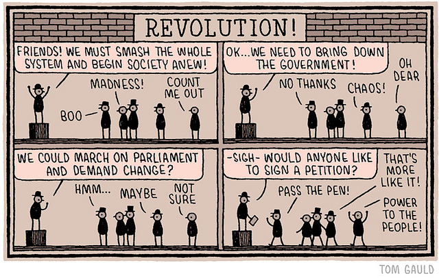 Revolution! by tom gauld on Flickr.