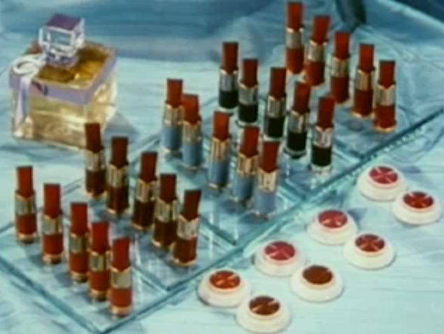 From a 1949 film, demonstrating Technicolor film. Prelinger Archives.